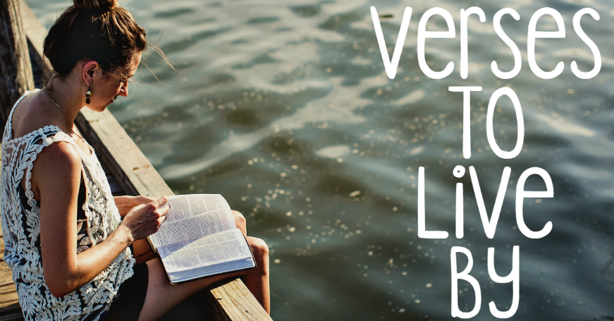 Verses To Live By: Proverbs 18:10