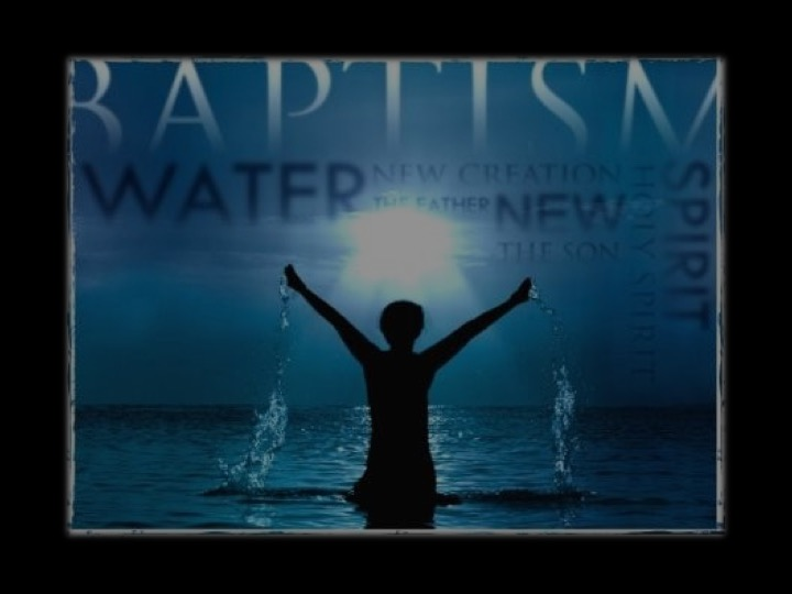 Baptism: Passing Through The Waters